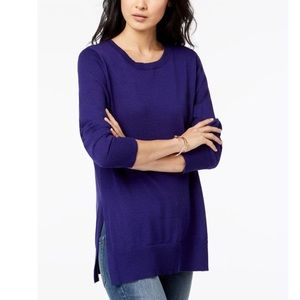 Maison Jules High-Low Hem Sweater